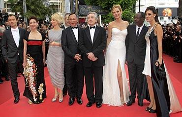 Jude Law , Shi Nansun, Linn Ullmann, Johnnie To, Uma Thurman, Mahamat-Saleh Haroun and Martina