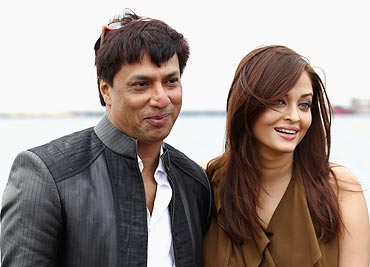 Madhur Bhandarkar and Aishwarya Rai