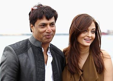 Madhur Bhandarkar and Aishwarya Rai