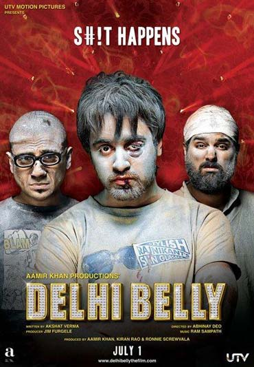 A scene from Delhi Belly