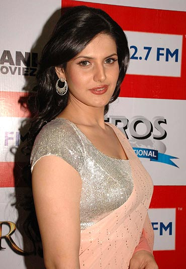 zarine khan pics in ready. Zarine Khan