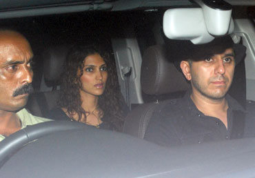 Ritesh Sidhwani with wife Dolly
