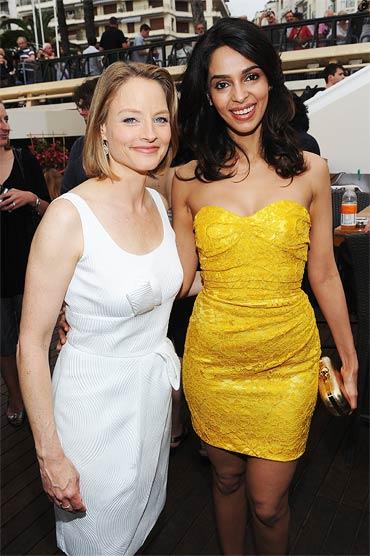 Mallika Sherawat and Jodie Foster