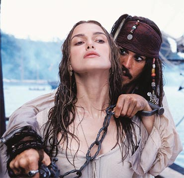 A scene from Pirates Of The Caribbean: The Curse Of The Black Pearl - 2003