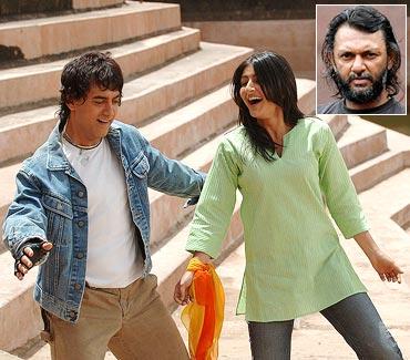 A scene from Rang De Basanti. Inset: Rakeysh Omprakash Mehra