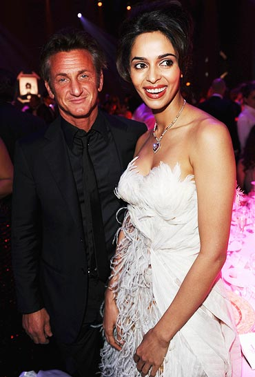 Sean Penn and Mallika Sherawat