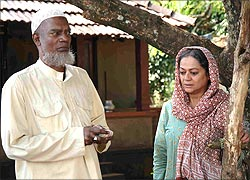 Salim Kumar and Zarina Wahab