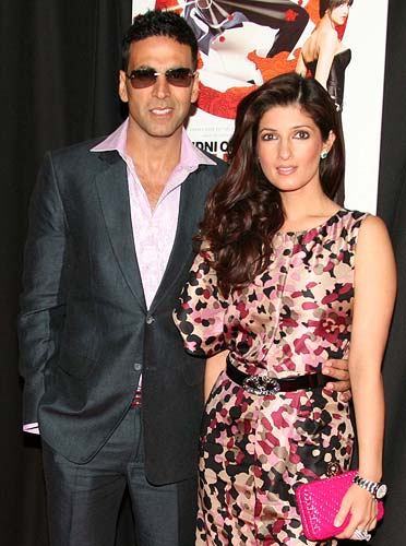 Twinkle and Akshay Kumar