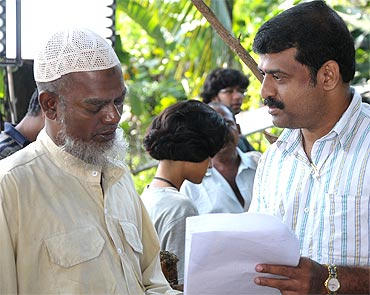 Salim Kumar with director Salim Ahmed