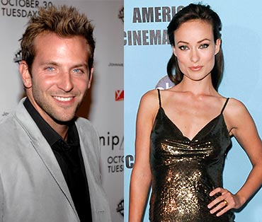 Bradley Cooper and Olivia Wilde