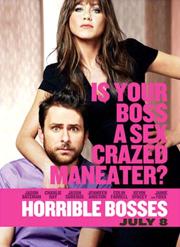 Movie poster of Horrible Bosses