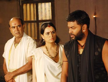 A scene from Karmayogi