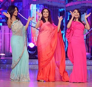 Priyanka Chopra, Madhuri Dixit and Malaika Arora Khan
