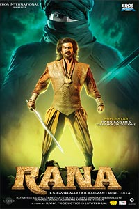 Movie poster of Rana