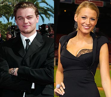 Leonardo Di Caprio and Blake Lively