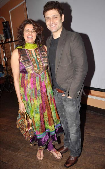 Shiney Ahuja with wife Anu Ahuja
