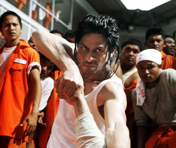 A still from Don 2: The Chase Continues