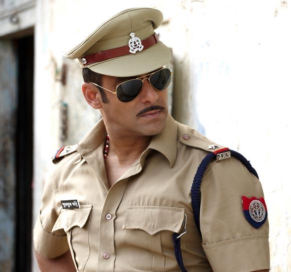 Salman Khan in Dabangg