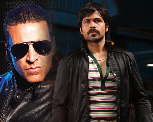 Akshay Kumar and Emraan Hashmi