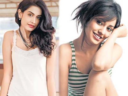 Sarah Jane Dias and Neha Sharma