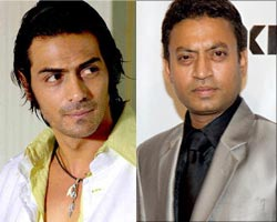 Arjun Rampal and Irrfan