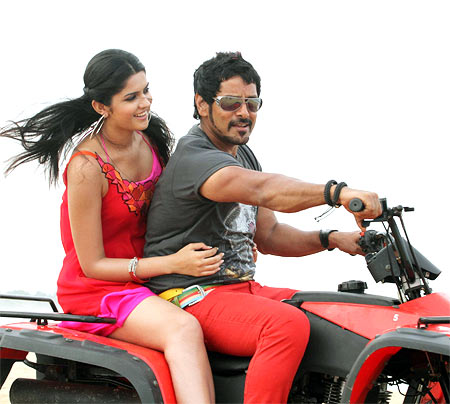 A scene from Rajapattai