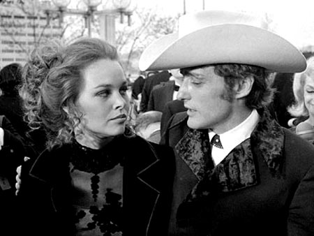 Michelle Philips and Dennis Hopper