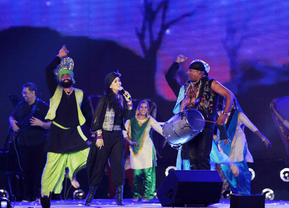 Harshdeep Kaur and Sivamani