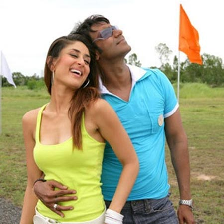 A scene from Golmaal Returns