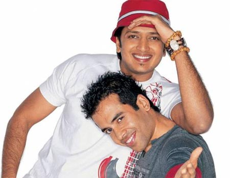 Riteish Deshmukh and Tusshar Kapoor