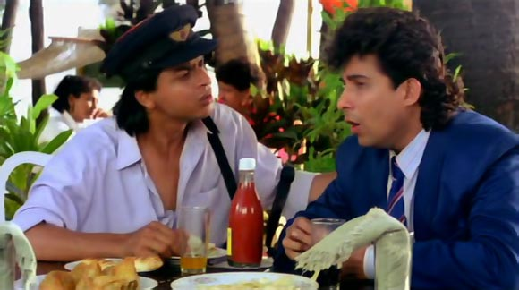 A scene from Kabhi Haan Kabhi Naa