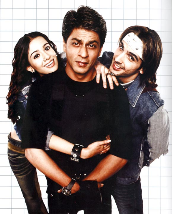 A scene from Main Hoon Na