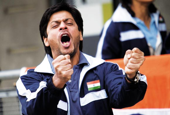 A scene from Chak De! India
