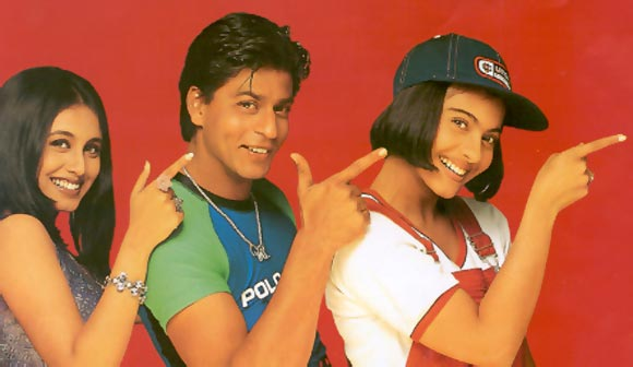 A scene from Kuch Kuch Hota Hai