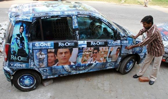 Vishal Singh's car