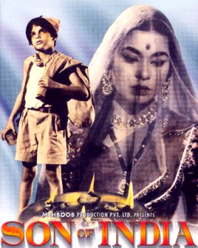 Movie poster of Son of India