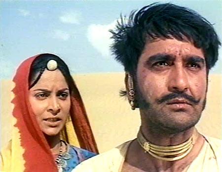 A scene from Reshma Aur Shera