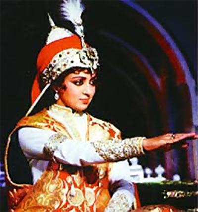 A scene from Razia Sultan