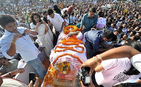 Bhupen Hazarika's family and admirers