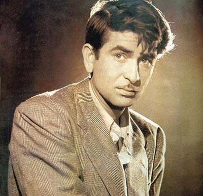 Raj Kapoor in Vakil Babu