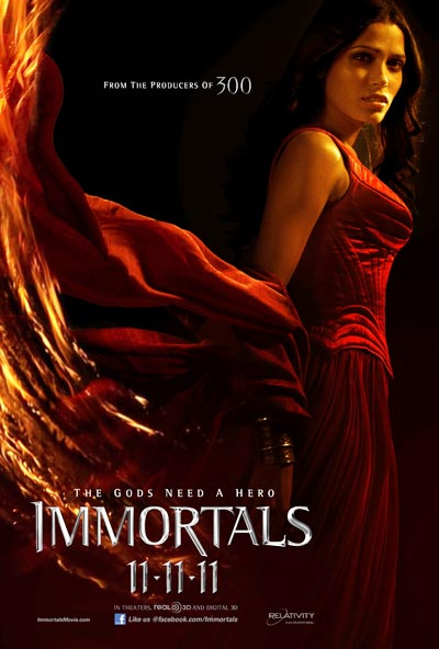 A Immortals movie poster