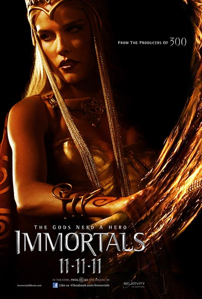 Movie poster of  Immortals