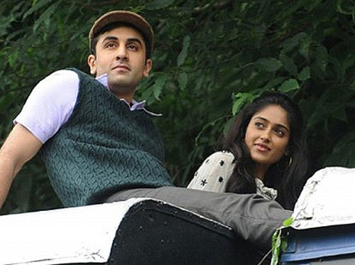 Ranbir Kapoor and Illeana in Barfee