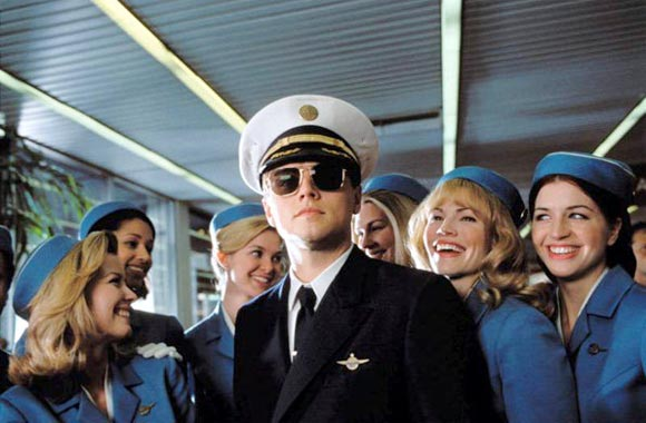 A scene from Catch Me If You Can