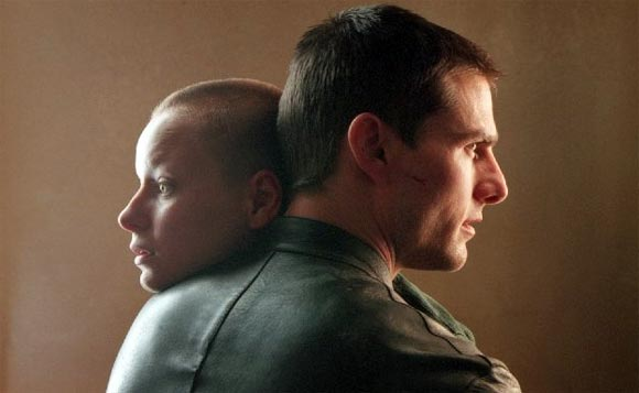 A scene from Minority Report