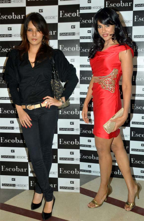 Udita Goswami and Sameera Reddy