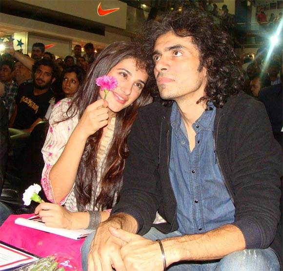 Nargis Fakhri and Imtiaz Ali