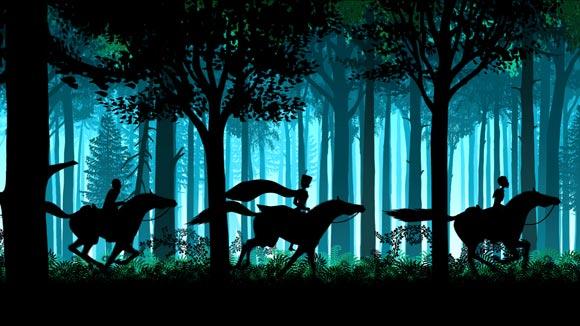 A scene from Les Contes De La Nuit