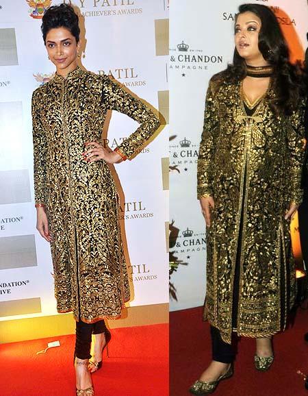 Deepika Padukone and Aishwarya Rai Bachchan