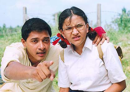 Shreyas Talpade and Shweta Prasad in Iqbal